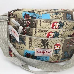 Cath Kidston London Flora & Fauna Shoulder Bag New